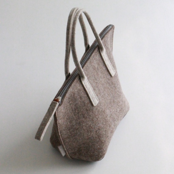 Small Felt Tote Bag