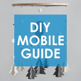 DIY KIT GUIDE / Owl & Trees, Winter Woodland Mobile