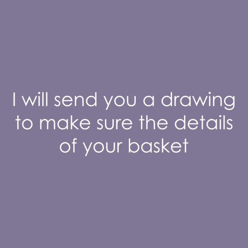 I will send a drawing