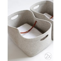 M size, Set of 2 / Custom-made Storage Basket