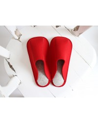 Unisex Red Slippers (S, M, L)