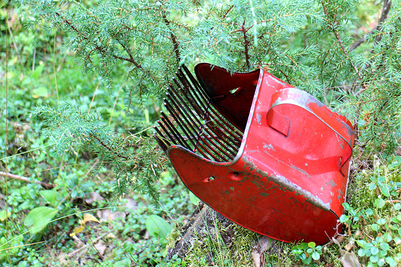 Blueberry picking tool, Finland