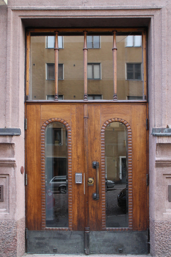 A door in Helsinki by Aika Felt Works