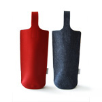 Aika Felt Works Webshop wine carrier bag